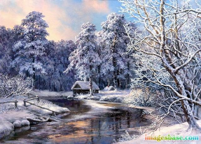 Русская зима, оригинал