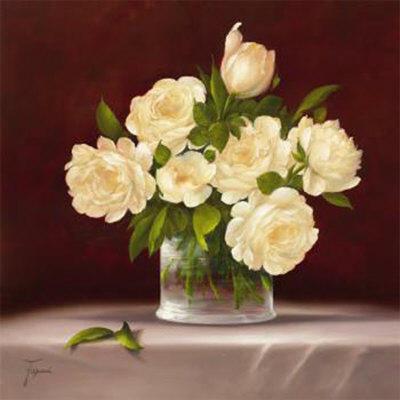 Белые розы, оригинал