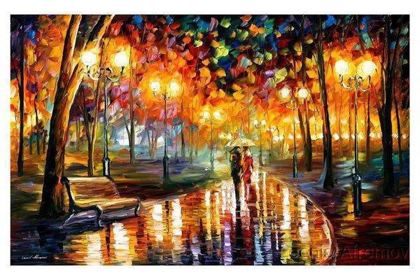 Оригинал - Схема вышивки «Осень в городе» - Автор «kolst ...