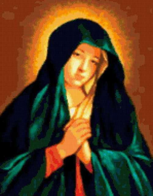 Сассоферато Молящаяся Мадонна