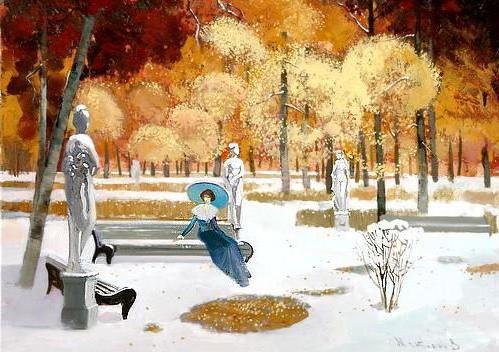 Зимний сон, оригинал