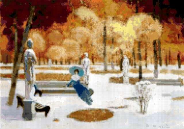 Зимний сон, предпросмотр