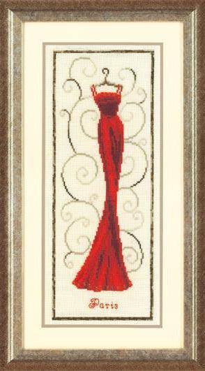 Красное платье, одежда, платье