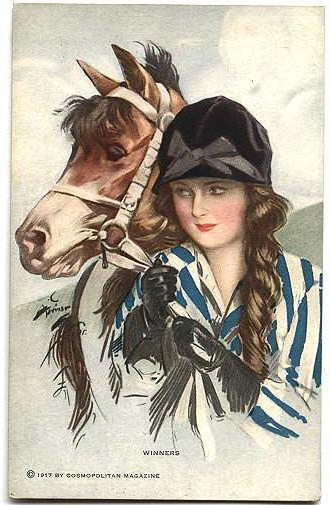 Девушка с лошадью, оригинал