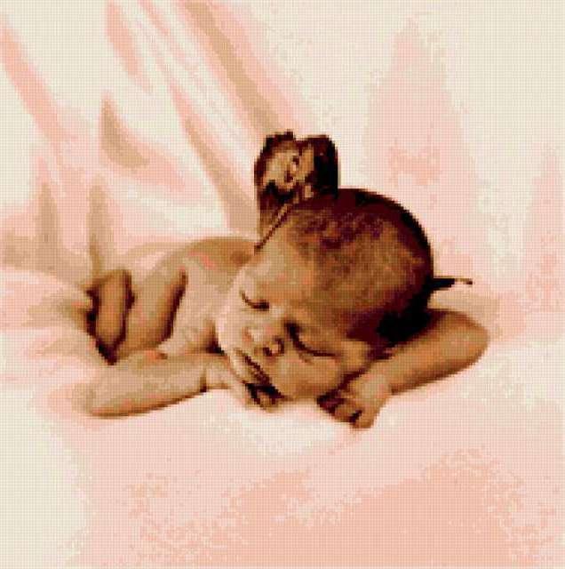 Сон младенца, предпросмотр