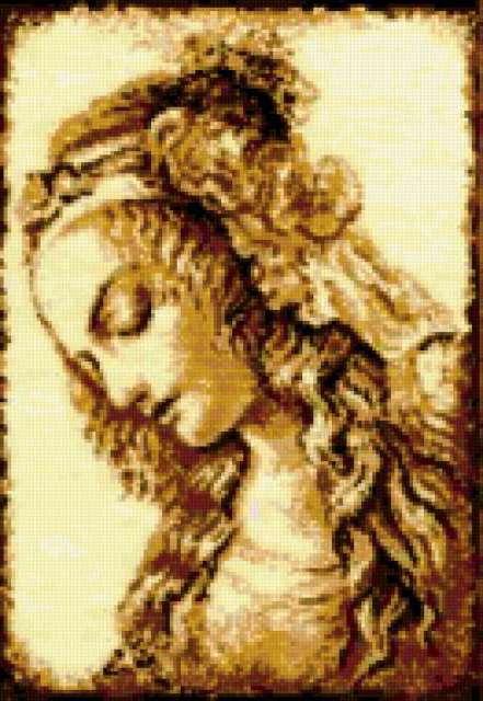 Девушка эпохи Возрождения