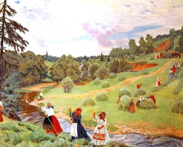 Кустодиев2, картины