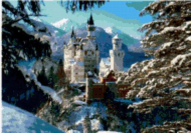 Замок баварского короля