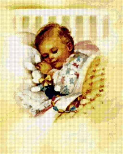 Спящий ребенок, предпросмотр