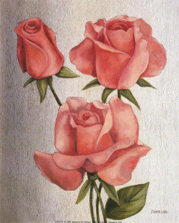 Три розы, оригинал