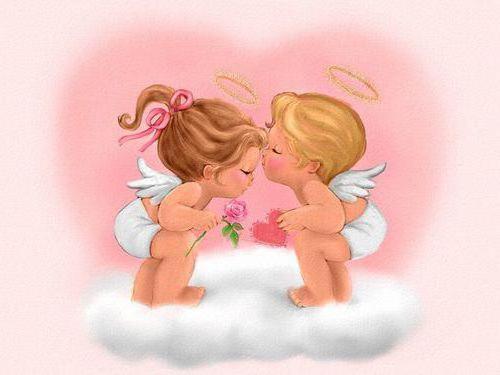 Маленькие ангелочки, маленькие