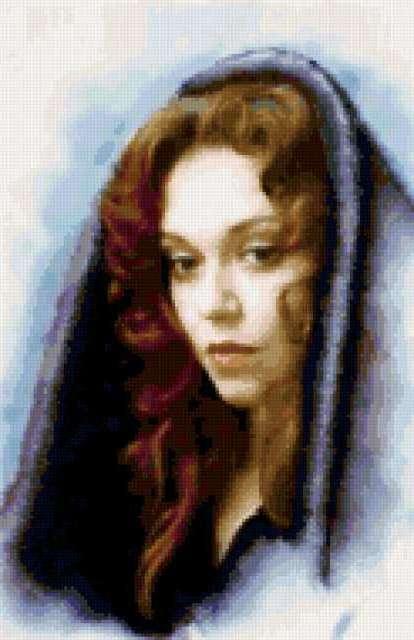 Портрет актрисы, предпросмотр