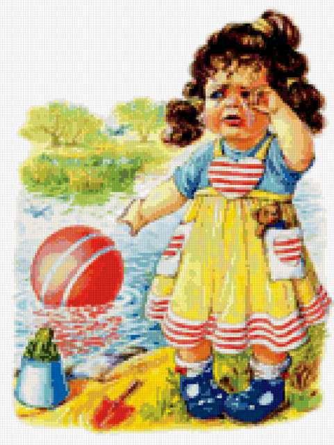 Девочка и мяч, предпросмотр
