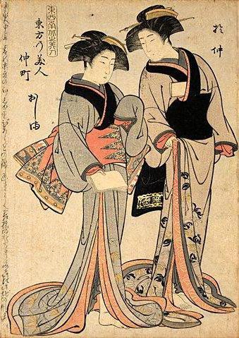 Японские мотивы, живопись