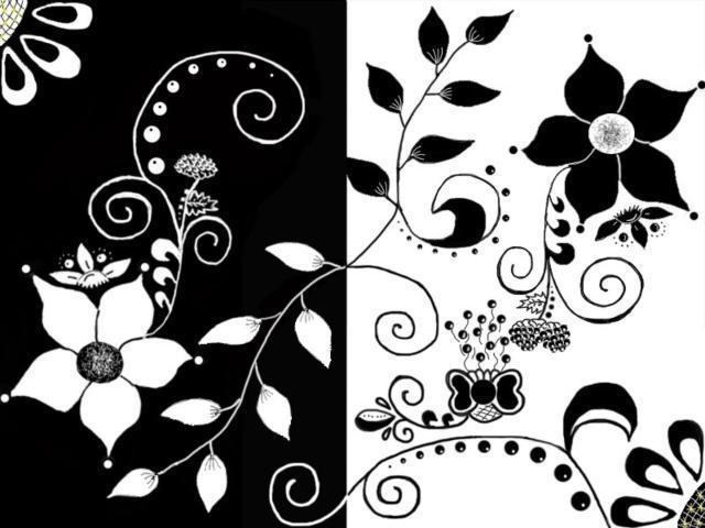 Черно-белые открытки на телефон
