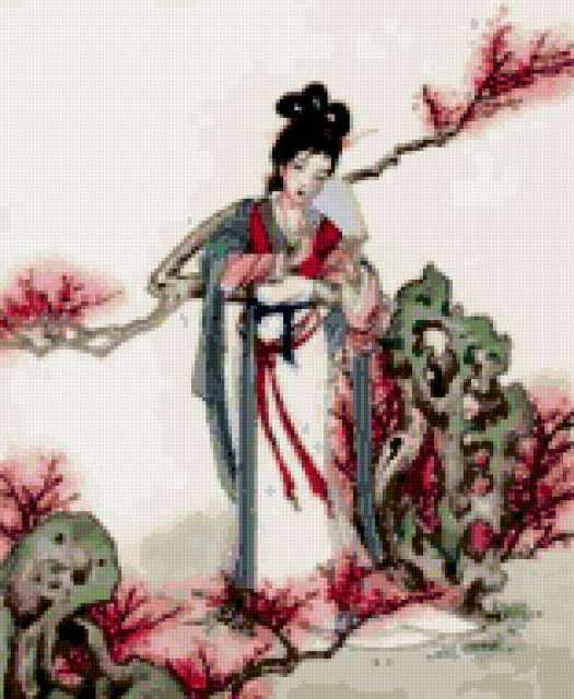 Схема вышивки «Китайская