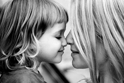 Мама и дочка, оригинал