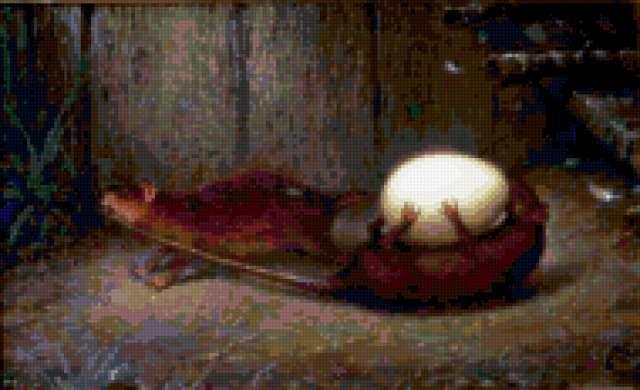 Две крысы, крадущие яйцо,