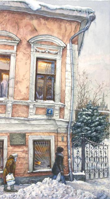 Московские дворики 1, оригинал