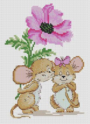 Влюблённая мышка,