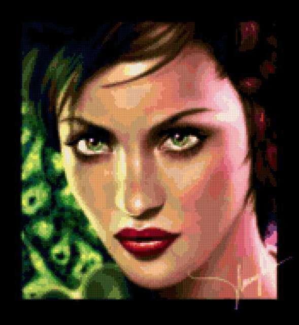 Красивая девушка 1