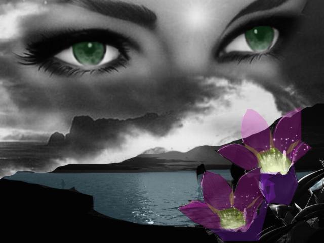 Глаза над морем, оригинал