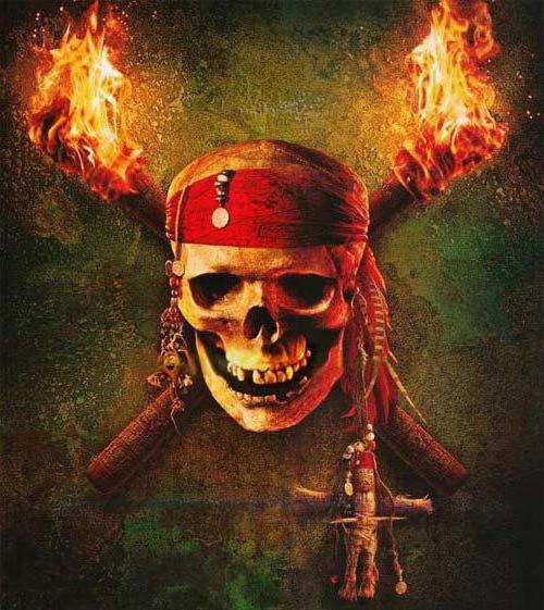 Пиратский череп, оригинал