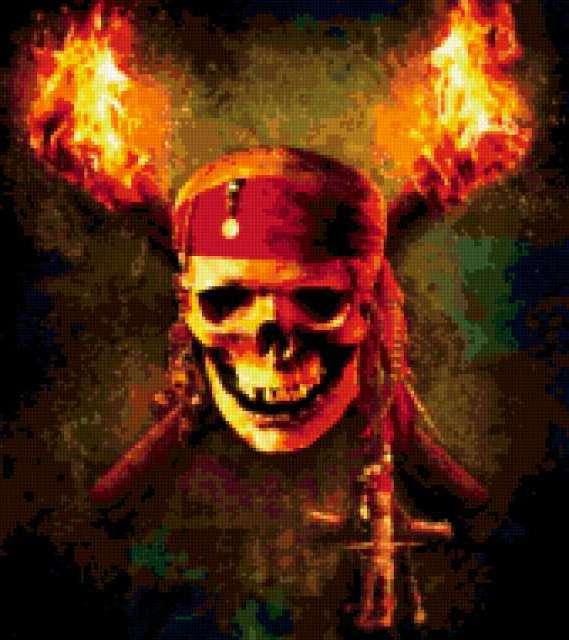 Пиратский череп, предпросмотр