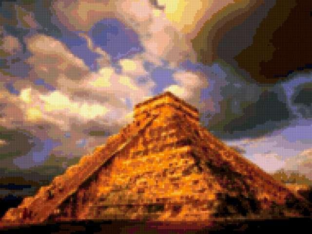 Пирамида майя, предпросмотр