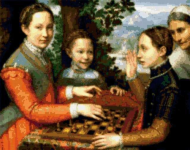Игра в шахматы, предпросмотр