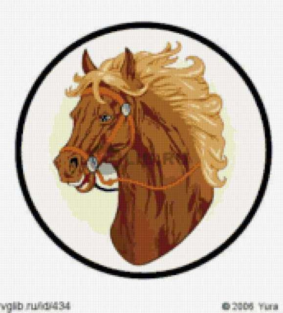 Голова лошади, предпросмотр