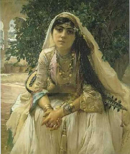 Arabian Girl, девушка