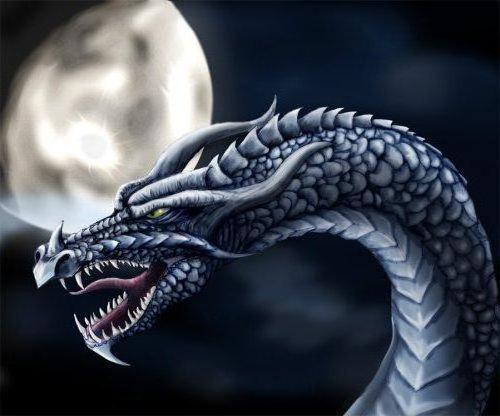 Лунный дракон, оригинал