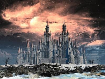 Загадочный замок, замок