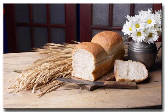Хлеб с цветами фото и
