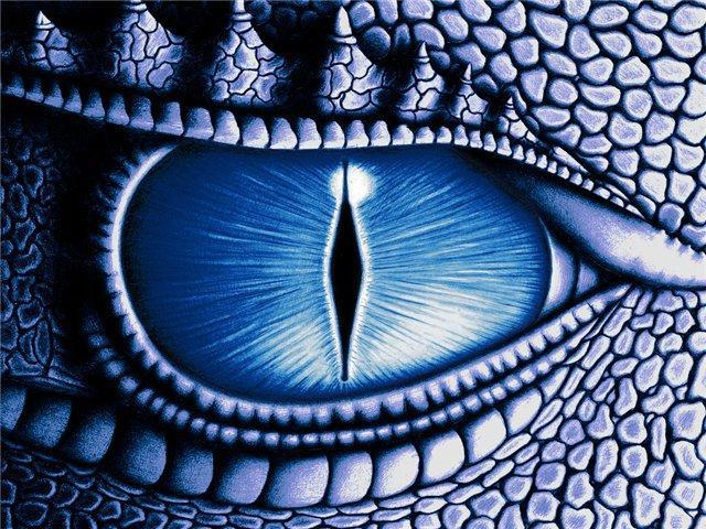 Схема вышивки «Глаз дракона»