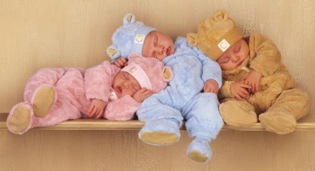 Спящие малыши, оригинал