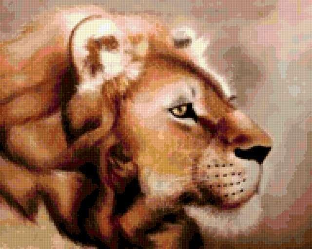 Голова льва, предпросмотр