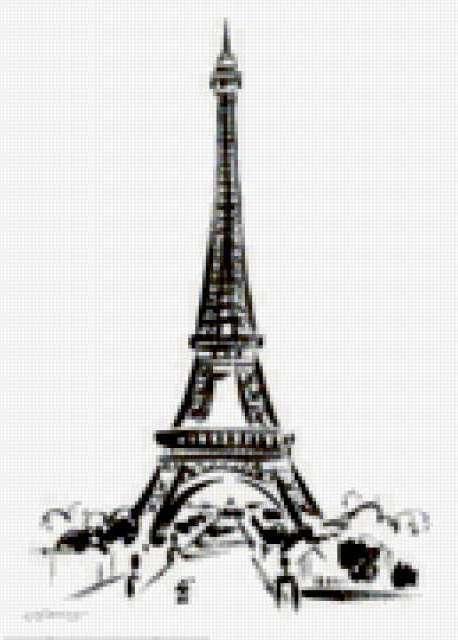 Эйфелева башня, предпросмотр