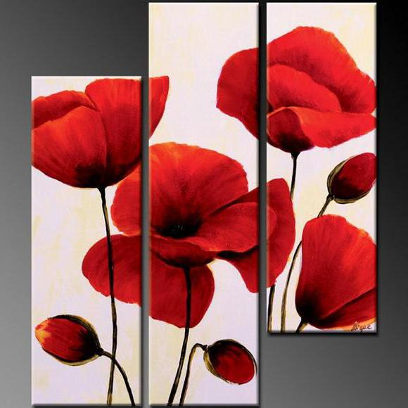 Triptych with Flowers, �����