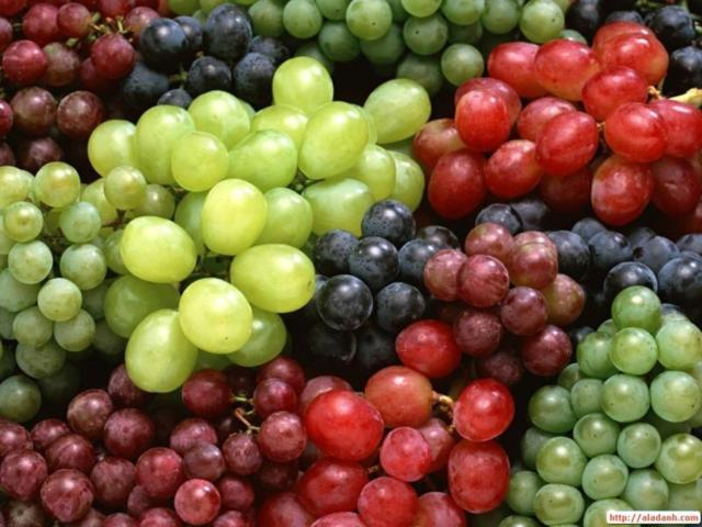 Разный виноград, оригинал