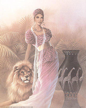 Woman with Lion, �������, �������