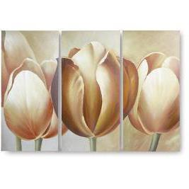 Triptych - Tulips, цветы