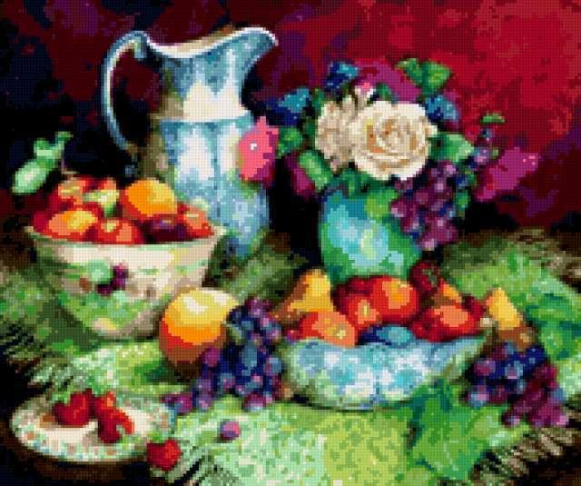 Натюрморт с фруктами