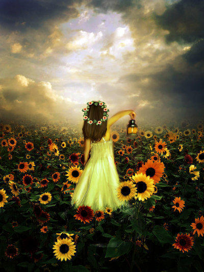 Girl with Flowers, �����, �������