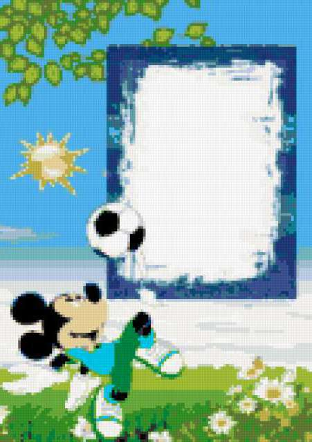 Мышь - футболист, предпросмотр