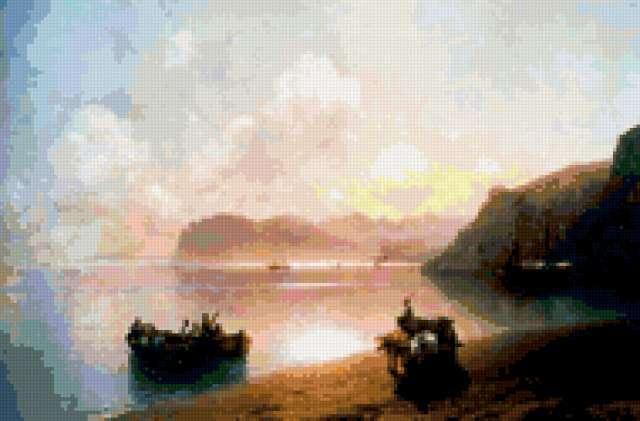 "Айвазовский ""Утро на море"","