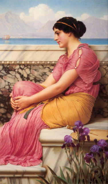 Absence Makes The Heart Grow, jhon william godward, искусство