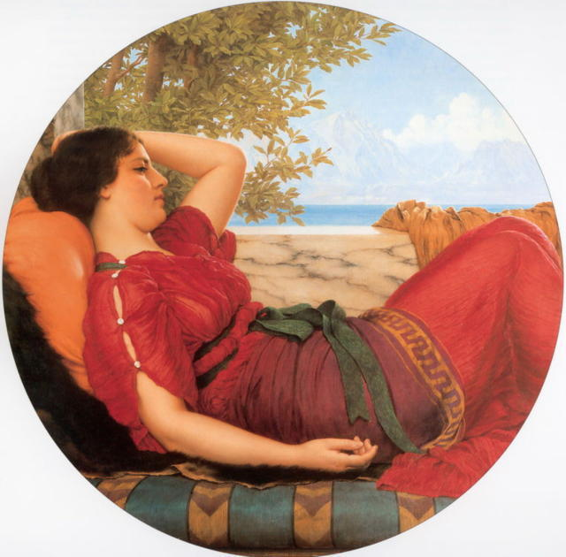 In Realms Of Fancy, jhon william godward, ���������