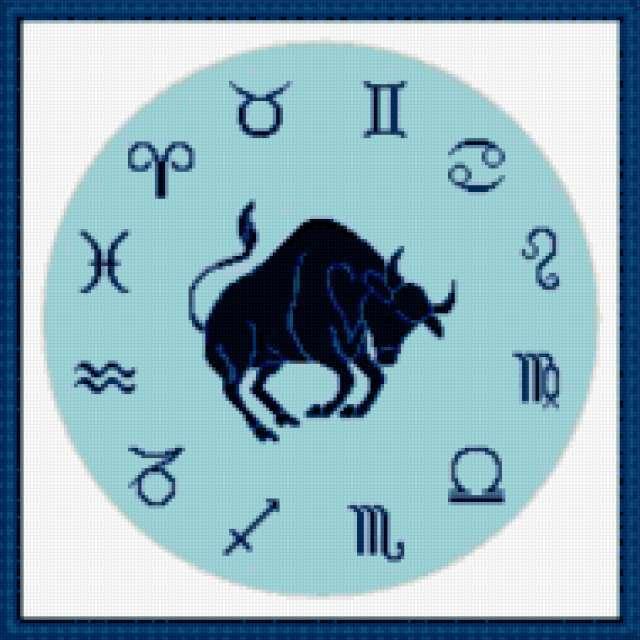Часы зодиак-телец